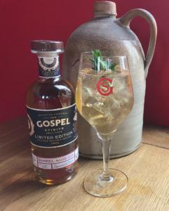 Barrel Aged Gin & Ginger Ale
