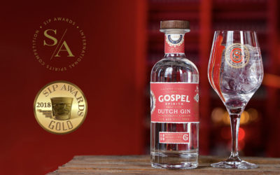 Gospel Spirits Dutch Gin wint goud tijdens SIP Awards 2018