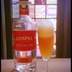 Spoom met Gospel Dutch Gin, Jopen Mooie Nel IPA en lychee sortbetijs