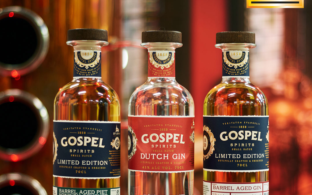 Gospel Spirits dingt mee naar titel 'World's Best Gin'