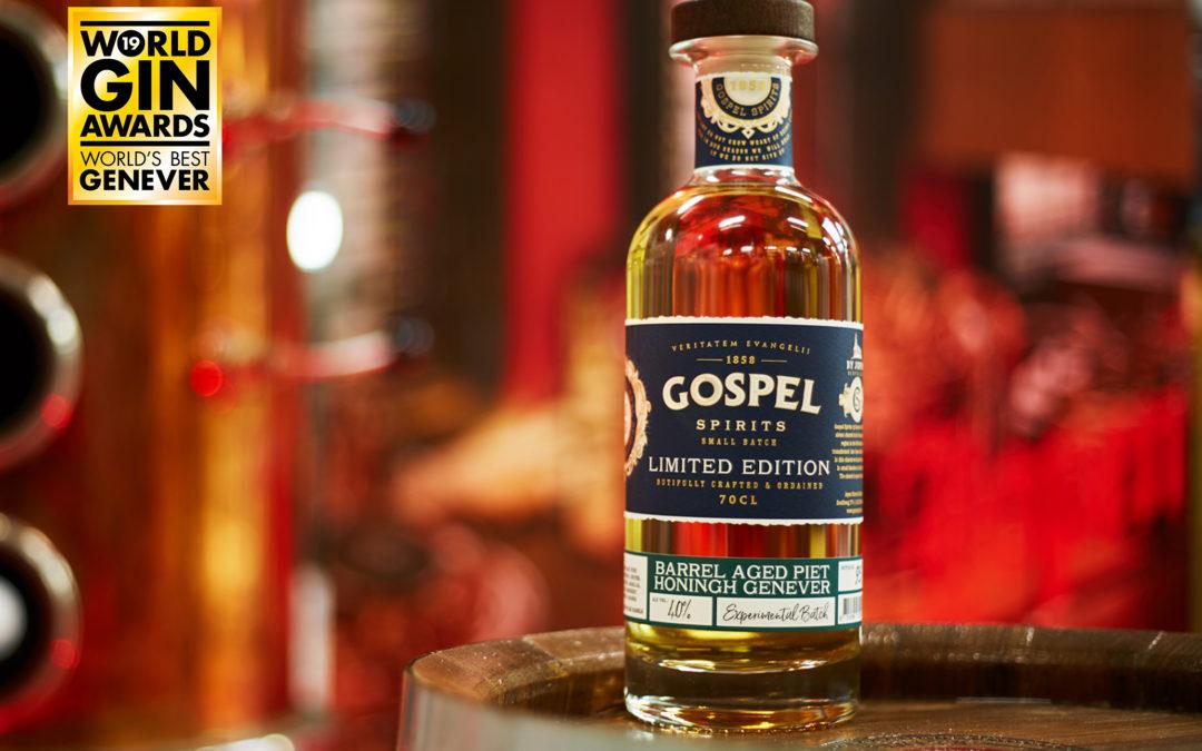Gospel Spirits distilleert beste jenever ter wereld